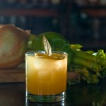 Zydeco Fiddle - Tom Gin, Lemon, Trinity, Apricot Brandy, Celery Bitters, House Ginger Beer (Photo & Cocktail by Anvil Bartender Alex Gregg)
