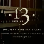 WINE 101 SEMINAR AT 13 CELSIUS